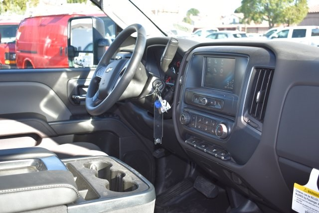 2018 Silverado 3500 Regular Cab DRW 4x2,  Harbor Black Boss Platform Body #M18183 - photo 14
