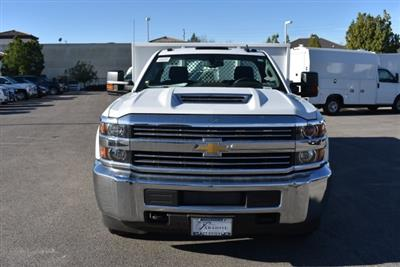 2018 Silverado 3500 Regular Cab DRW, Harbor Black Boss Flatbed Platform Body #M18183 - photo 4