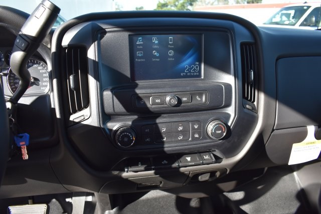 2018 Silverado 3500 Regular Cab DRW,  Harbor Black Boss Stakebed Flat/Stake Bed #M18186 - photo 17