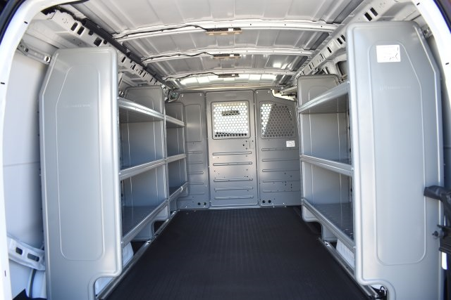 2018 Express 3500 4x2,  Adrian Steel Commercial Shelving Upfitted Cargo Van #M181941 - photo 2