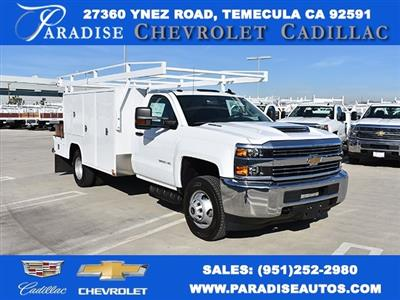 2018 Silverado 3500 Regular Cab DRW,  Harbor ComboMaster Combo Body #M18201 - photo 1