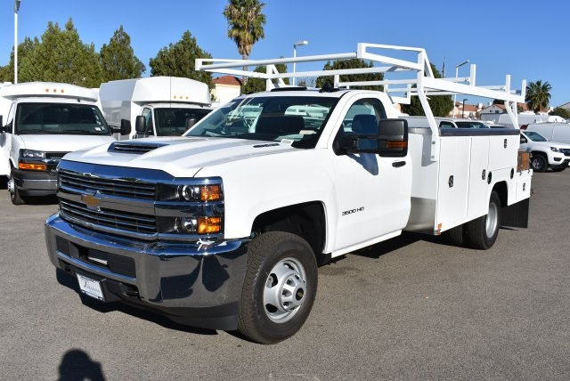 2018 Silverado 3500 Regular Cab DRW,  Harbor ComboMaster Combo Body #M18209 - photo 5
