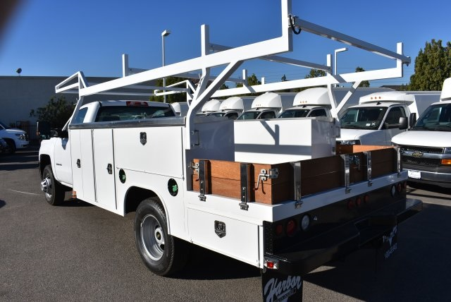 2018 Silverado 3500 Regular Cab DRW 4x2,  Harbor Combo Body #M18209 - photo 7
