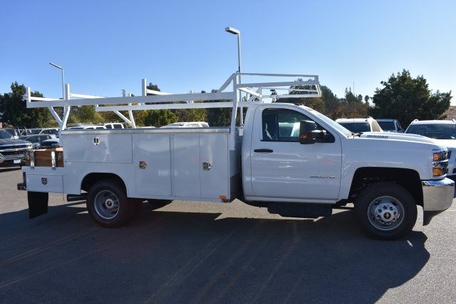 2018 Silverado 3500 Regular Cab DRW 4x2,  Harbor Combo Body #M18209 - photo 9