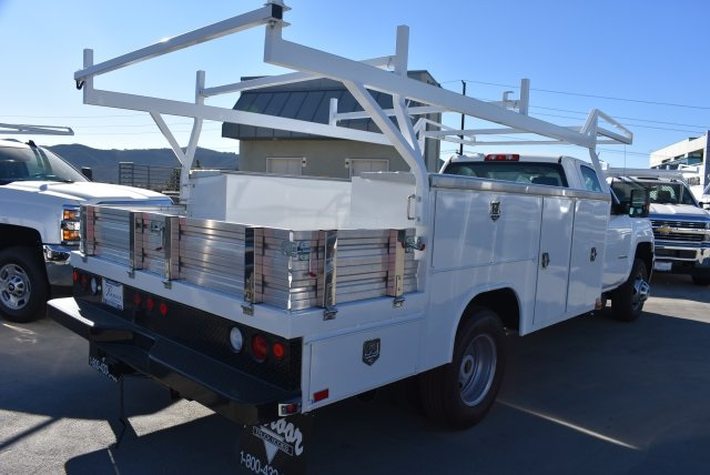 2018 Silverado 3500 Regular Cab DRW 4x2,  Harbor Combo Body #M18210 - photo 2