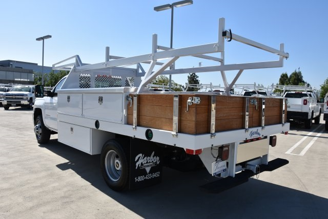 2018 Silverado 3500 Regular Cab DRW 4x2,  Harbor Standard Contractor Body #M18215 - photo 7