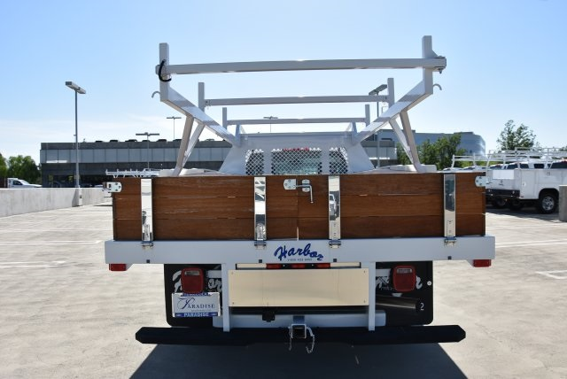 2018 Silverado 3500 Regular Cab DRW 4x2,  Harbor Standard Contractor Body #M18215 - photo 3