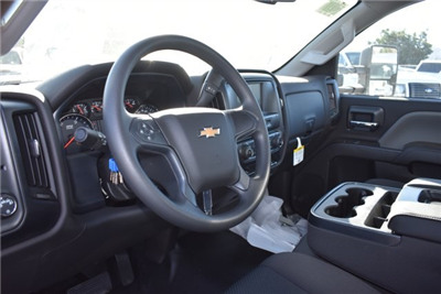 2018 Silverado 3500 Regular Cab DRW,  Harbor Standard Contractor Contractor Body #M18215 - photo 17