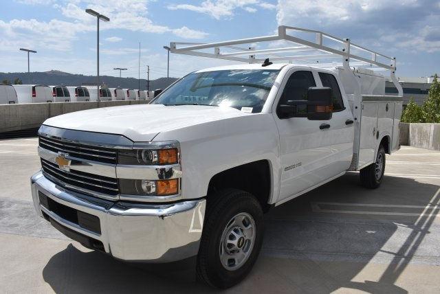 2018 Silverado 2500 Double Cab, Utility #M18220 - photo 6