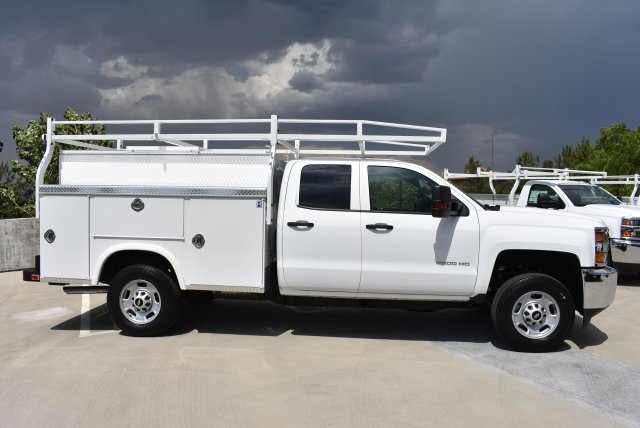 2018 Silverado 2500 Double Cab, Utility #M18220 - photo 9