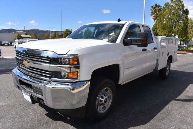 2018 Silverado 2500 Double Cab, Harbor Utility #M18296 - photo 5