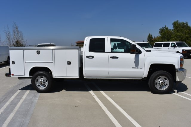 2018 Silverado 2500 Double Cab, Harbor Utility #M18303 - photo 8