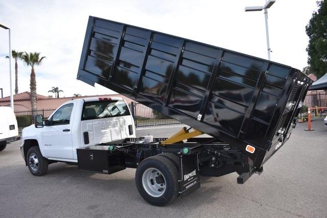 2018 Silverado 3500 Regular Cab DRW 4x2,  Knapheide Landscape Dump #M18322 - photo 11