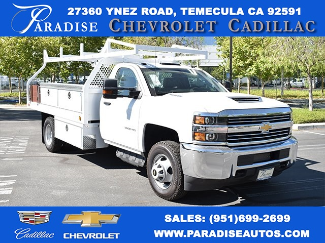 2018 Silverado 3500 Regular Cab DRW 4x2,  Knapheide Platform Body #M18330 - photo 1