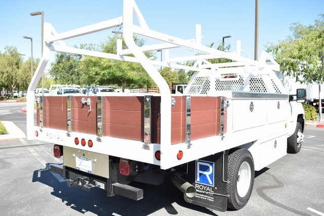 2018 Silverado 3500 Regular Cab DRW 4x2,  Knapheide Contractor Body #M18330 - photo 7