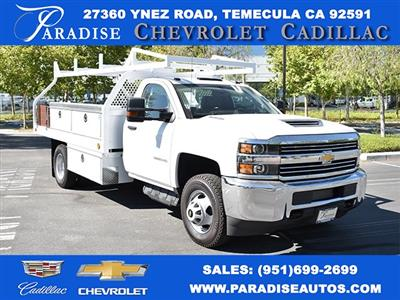 2018 Silverado 3500 Regular Cab DRW 4x2,  Knapheide Contractor Body #M18330 - photo 1