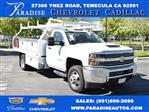 2018 Silverado 3500 Regular Cab DRW 4x2,  Royal Contractor Body #M18330 - photo 1