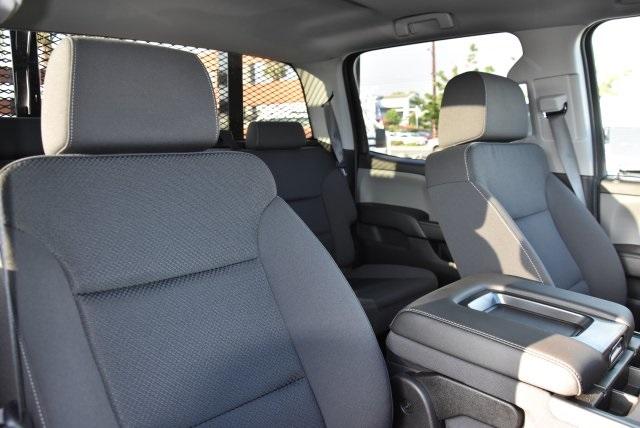 2018 Silverado 3500 Crew Cab DRW 4x2,  Martin's Quality Truck Body Flat/Stake Bed #M18356 - photo 10