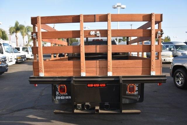 2018 Silverado 3500 Crew Cab DRW 4x2,  Martin's Quality Truck Body Flat/Stake Bed #M18356 - photo 7