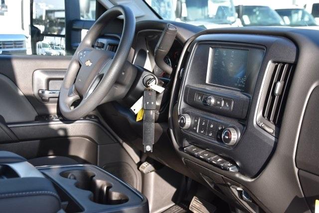 2018 Silverado 3500 Crew Cab DRW 4x2,  Martin's Quality Truck Body Flat/Stake Bed #M18356 - photo 8