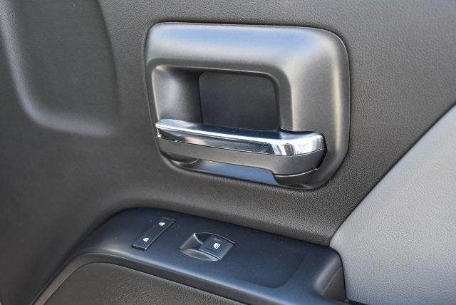 2018 Silverado 3500 Crew Cab DRW 4x2,  Martin's Quality Truck Body Flat/Stake Bed #M18356 - photo 9