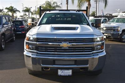2018 Silverado 3500 Crew Cab DRW 4x2,  Martin's Quality Truck Body Flat/Stake Bed #M18356 - photo 4