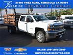 2018 Silverado 3500 Crew Cab DRW 4x2,  Martin's Quality Truck Body Flat/Stake Bed #M18356 - photo 1
