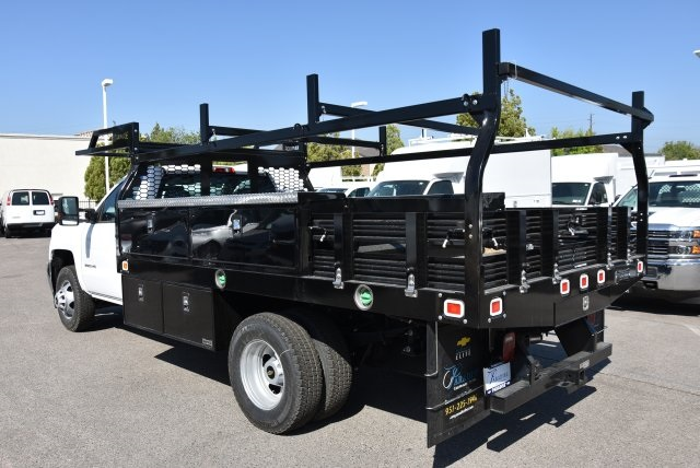 2018 Silverado 3500 Regular Cab DRW 4x2,  Knapheide Contractor Body #M18393 - photo 6