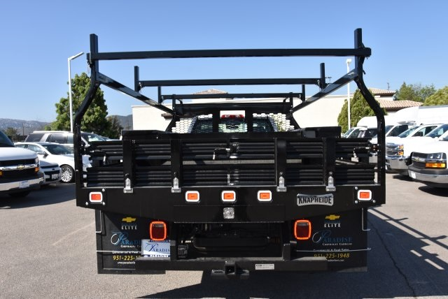 2018 Silverado 3500 Regular Cab DRW 4x2,  Knapheide Contractor Body #M18393 - photo 7
