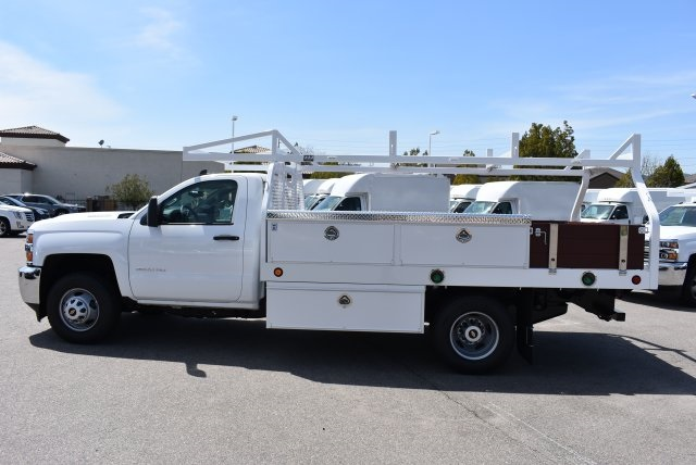 2018 Silverado 3500 Regular Cab DRW 4x2,  Royal Contractor Body #M18428 - photo 5