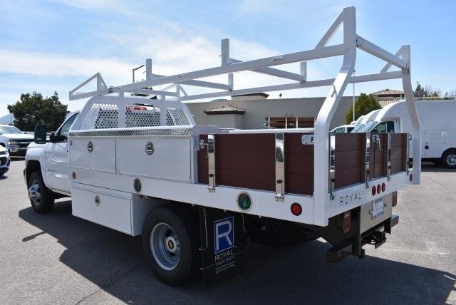 2018 Silverado 3500 Regular Cab DRW 4x2,  Royal Contractor Body #M18428 - photo 6