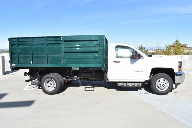 2018 Silverado 3500 Regular Cab DRW 4x2,  Knapheide Landscape Dump #M18455 - photo 10
