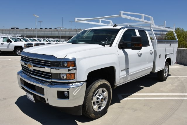 2018 Silverado 2500 Double Cab 4x2,  Harbor Utility #M18469 - photo 5