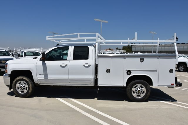 2018 Silverado 2500 Double Cab 4x2,  Harbor Utility #M18469 - photo 6