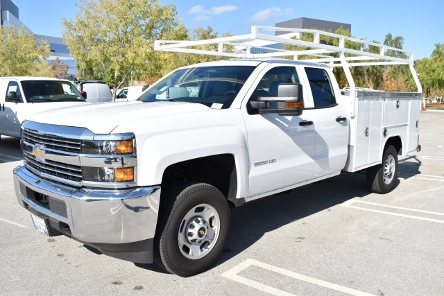 2018 Silverado 2500 Double Cab 4x2,  Harbor Utility #M18589 - photo 5
