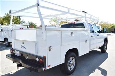 2018 Silverado 2500 Double Cab 4x2,  Harbor TradeMaster Utility #M18589 - photo 2