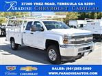 2018 Silverado 2500 Double Cab 4x2,  Harbor Utility #M18589 - photo 1