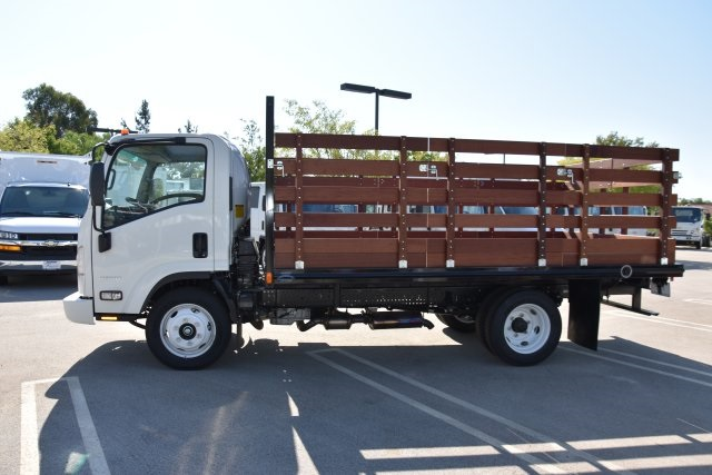 2018 LCF 4500 Regular Cab 4x2,  Martin's Quality Truck Body Flat/Stake Bed #M18618 - photo 6
