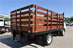 2018 LCF 4500 Regular Cab 4x2,  Martin's Quality Truck Body Flat/Stake Bed #M18618 - photo 1