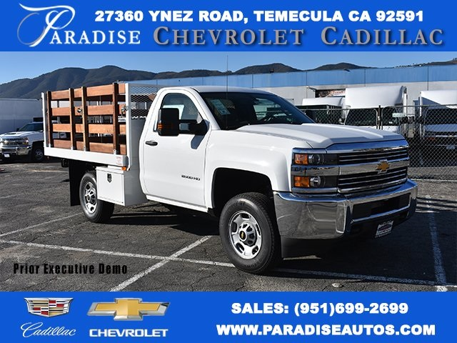 2018 Silverado 2500 Regular Cab 4x2,  Default Industrial Truck Beds Flat/Stake Bed #M18641 - photo 1