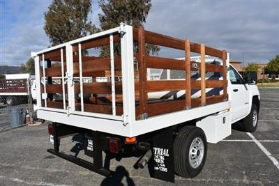 2018 Silverado 2500 Regular Cab 4x2,  Default Industrial Truck Beds Flat/Stake Bed #M18641 - photo 2