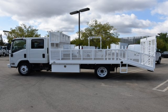 2018 LCF 4500 Crew Cab 4x2,  Martin's Quality Truck Body Dovetail Landscape #M18716 - photo 5