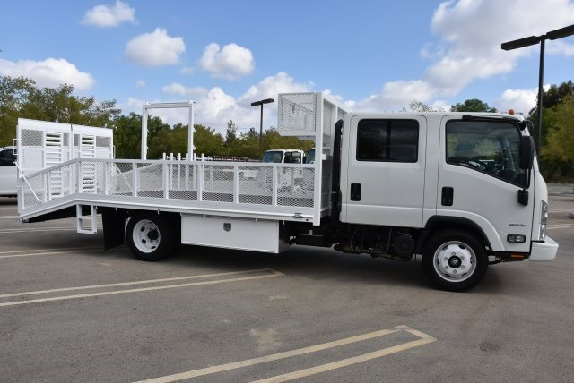 2018 LCF 4500 Crew Cab 4x2,  Martin's Quality Truck Body Dovetail Landscape #M18716 - photo 8