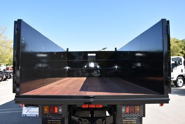 2018 LCF 4500 Crew Cab 4x2,  Martin's Quality Truck Body Landscape Dump #M18718 - photo 11