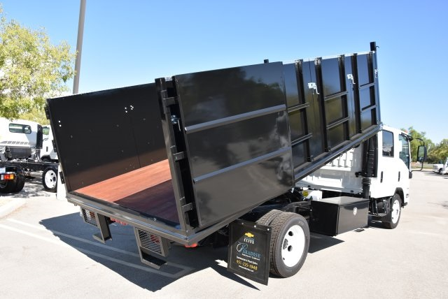 2018 LCF 4500 Crew Cab 4x2,  Martin's Quality Truck Body Landscape Dump #M18718 - photo 16