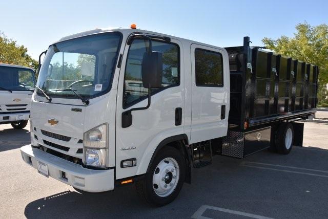 2018 LCF 4500 Crew Cab 4x2,  Martin's Quality Truck Body Landscape Dump #M18718 - photo 5