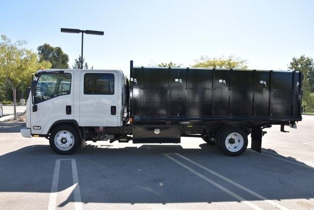 2018 LCF 4500 Crew Cab 4x2,  Martin's Quality Truck Body Landscape Dump #M18718 - photo 6