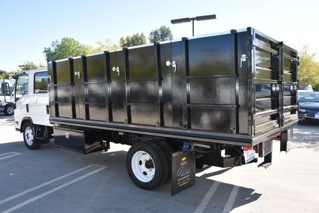 2018 LCF 4500 Crew Cab 4x2,  Martin's Quality Truck Body Landscape Dump #M18718 - photo 7