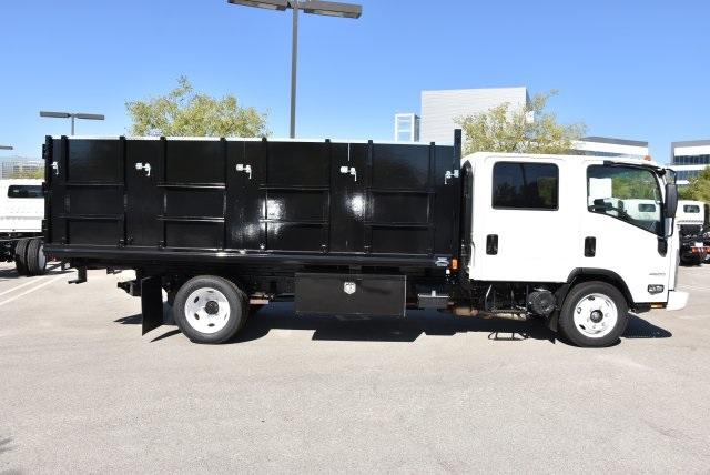 2018 LCF 4500 Crew Cab 4x2,  Martin's Quality Truck Body Landscape Dump #M18718 - photo 9