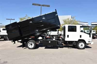 2018 LCF 4500 Crew Cab 4x2,  Martin's Quality Truck Body Landscape Dump #M18718 - photo 17